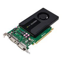 nVidia Quadro K2000D Grafikkarte 2GB GDDR5 PCI-E 2.0 x16 1x DVI-I 1xDVI-D 1xMini-DP