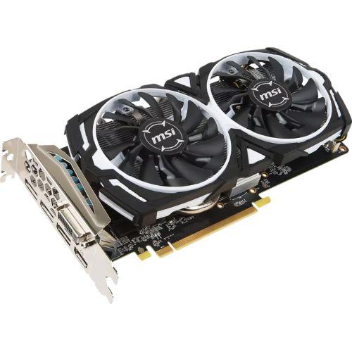 AMD Radeon RX 570 MSI Armor 8G OC Grafikkarte 8GB GDDR5 PCI Express 3.0 x16 1x DVI-D 3x DP 1x HDMI