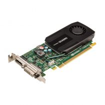 nVidia Quadro K600 low profile SFF Grafikkarte 1GB DDR3 PCI Express 3.0 x16 1x DVI-I 1x DP