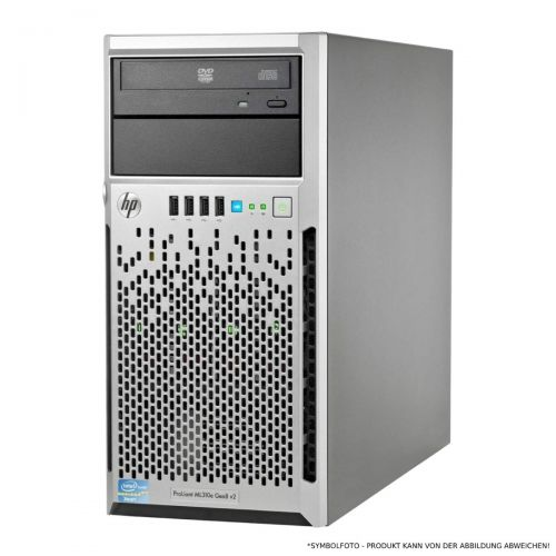 HP ProLiant ML310e G8 v2 1x Xeon E3-1220 v3 4-Core 3.1GHz 16GB PC3-12800 2x 300GB SAS