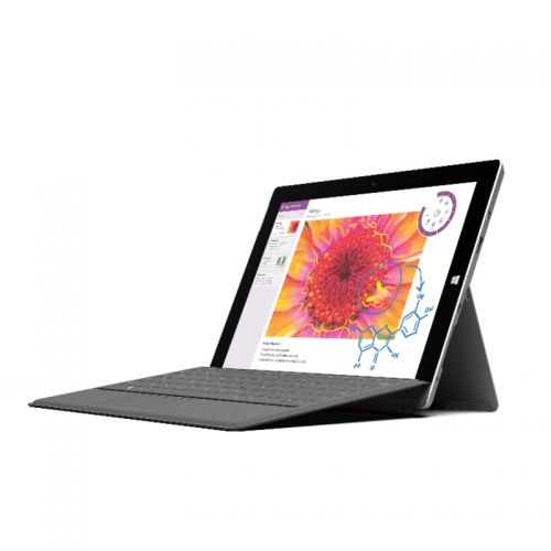 Microsoft Surface 3 10.8 Zoll Tablet PC Intel Atom x7-Z8700 128GB 4GB B-Ware Win10