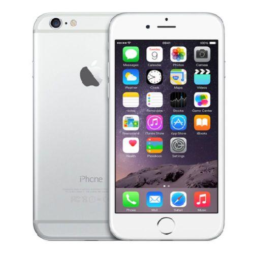 Apple iPhone 6 A1586 64GB Silber Ohne Simlock B-Ware