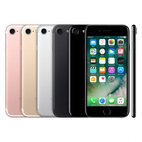 Apple iPhone 7 A1778 128GB Schwarz Ohne Simlock A-Ware