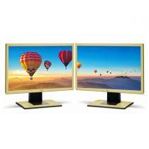 Monitor Doppelpack 2xFujitsu B22W-5 ECO 22 Zoll 16:10 Monitor B-Ware vergilbt