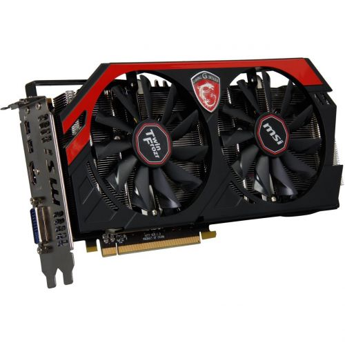 MSI AMD Radeon R9 280 Gaming 3G Grafikkarte 3GB GDDR5 PCI Express 3.0 x16 1x DVI-I 2x Mini-DP