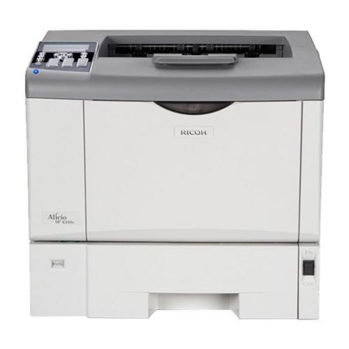 RICOH Aficio SP 4310N A4 Laserdrucker S/W unter 2.001 - 4.000 Seiten Toner über 21-50%