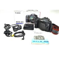 Canon EOS 40D SLR-Digitalkamera Body gebraucht (10 Megapixel, Live-View) OVP