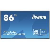 iiyama LH8642UHS-B3 Digital-Signage-Display 2.17 m (85.6 Zoll) IPS 4K Ultra HD