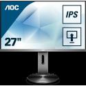 AOC 90 Series I2790PQU/BT (27 Zoll) 1920x1080px Full HD LED Grau