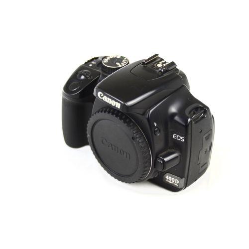 Canon EOS 400D SLR-Digitalkamera -Body- gebraucht (10 Megapixel) schwarz /defekt