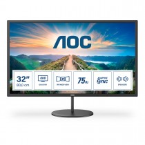 AOC V4 Q32V4 (31.5 Zoll) 2560x1440px 2K Ultra HD LED Schwarz
