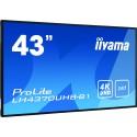 iiyama LH4370UHB-B1 Digital-Signage-Display 108cm (42.5 Zoll) VA 4K Ultra HD Android OS
