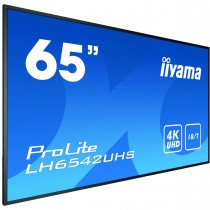 iiyama LH6542UHS-B3 Digital-Signage-Display 163.8cm (64.5 Zoll) IPS 4K Ultra HD Android OS
