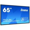 iiyama LH6552UHS-B1 Digital-Signage-Display 163.8cm (64.5 Zoll) IPS 4K Ultra HD Android OS
