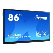 iiyama TE8602MIS-B1AG Interaktives Whiteboard 2.18 m (86 Zoll) 3840x2160px Touchscreen Schwarz
