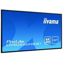 iiyama LH5052UHS-B1 Digital-Signage-Display 125.7cm (49.5 Zoll) VA 4K Ultra HD Android OS