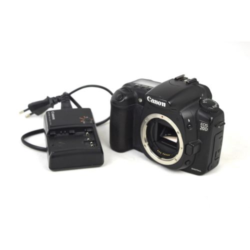 Canon EOS 20D SLR-Digitalkamera Body gebraucht (8 Megapixel) schwarz