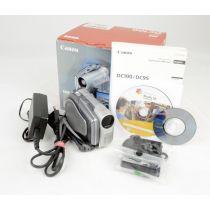 Canon DC100 Camcorder, silber