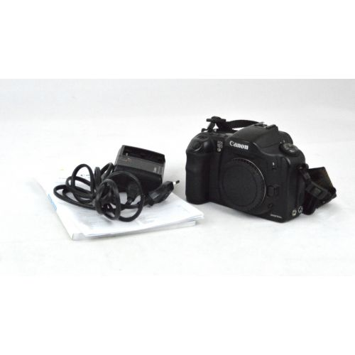 Canon EOS 10D SLR-Digitalkamera Body (6,5 Megapixel) schwarz
