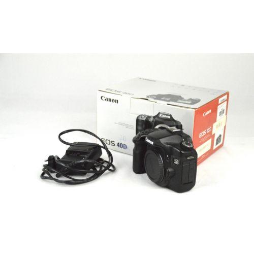 Canon EOS 40D SLR-Digitalkamera Body (10 Megapixel, Live-View)