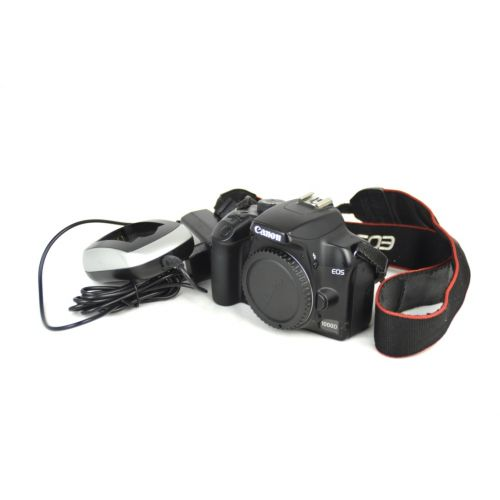 Canon EOS 1000D Body SLR-Digitalkamera gebraucht (10 Megapixel, Live-View)
