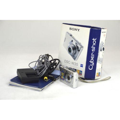 Sony Cyber-shot DSC-W35 (7,2 Megapixel), silber