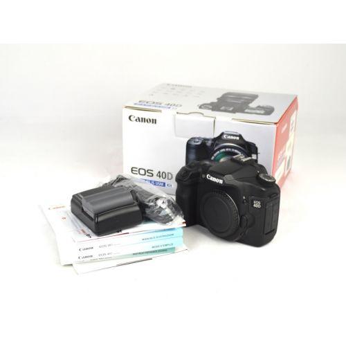 Canon EOS 40D OVP (10 Megapixel, Live-View) schwarz