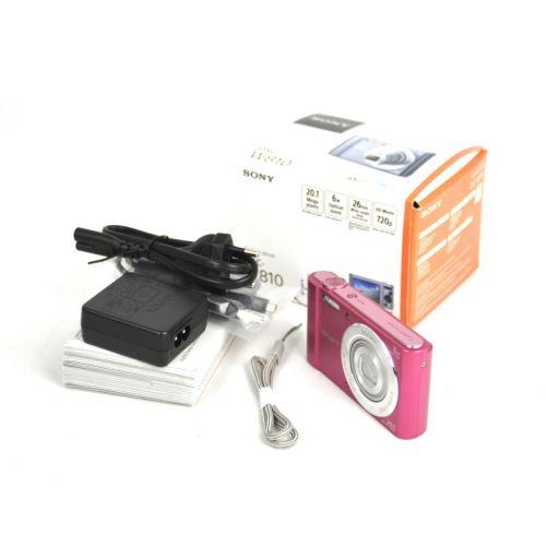 Sony Cyber-shot DSC-W810 (20,4 Megapixel), pink