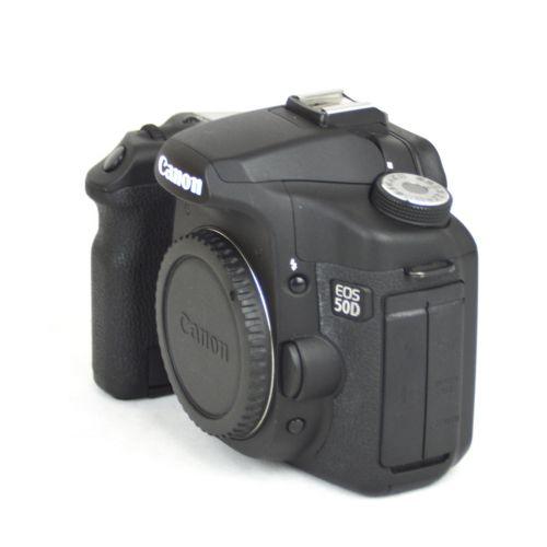 Canon EOS 50D Body (15 Megapixel, Live-View) schwarz