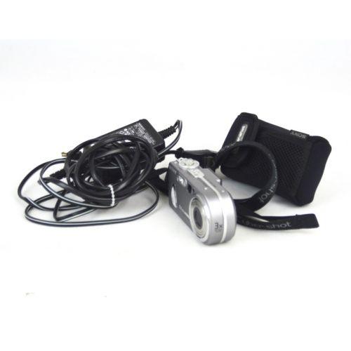 Sony Cyber-shot DSC-P10 gebraucht (5,0 Megapixel), silber
