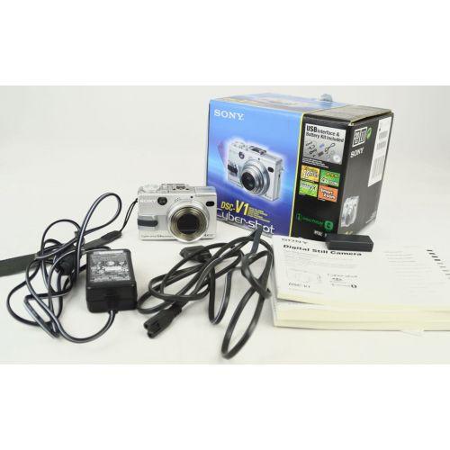 Sony DSC-V1 OVP (5,0 Megapixel), silber