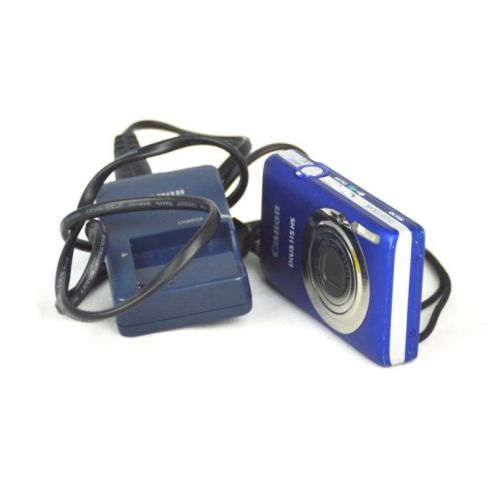 Canon IXUS 115 HS (12 Megapixel, 4-fach opt. Zoom, Full HD), blau