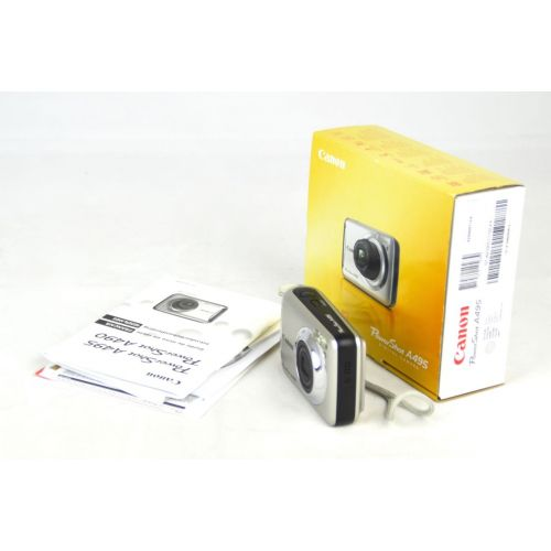 Canon PowerShot A495 (10,0 Megapixel), silber