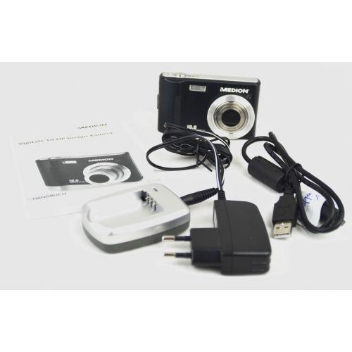 Medion MD 85820 (10,0 Megapixel), schwarz