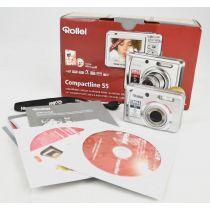 Rollei Compactline 55 (5,0 Megapixel), silber