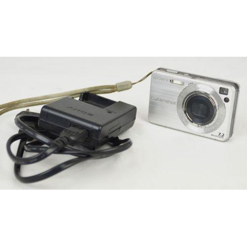 Sony Cyber-shot DSC-W120 (7,4 Megapixel), silber