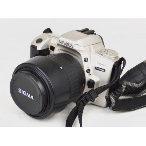 Minolta Dynax 404si mit Objektiv, Farbe: silber