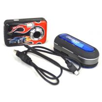 Lexibook DJ040HW (3,0 Megapixel), Hot Wheels Design