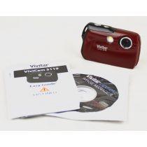 Vivitar ViviCam 5119 (5,1 Megapixel), Farbe: burgund
