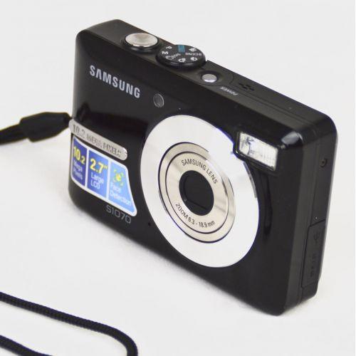 Samsung S1070 (10,2 Megapixel), Farbe: schwarz
