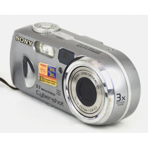 Sony Cyber-shot DSC-P93 (5,3 Megapixel), Farbe: silber