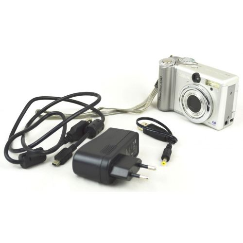 Canon PowerShot A80 (4,1 Megapixel), silber