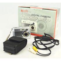 Ricoh Caplio RR530 (5,2 Megapixel), silber-grau