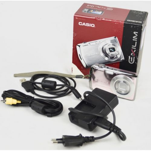 """Casio EXILIM EX-Z2 Digitalkamera gebraucht (12.1 Megapixel, 3-fach opt. Zoom, 2,7"""" Display) Farbe: rosa"""