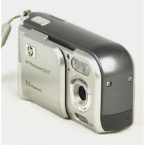 HP Photosmart E317 (5,2 Megapixel), silber