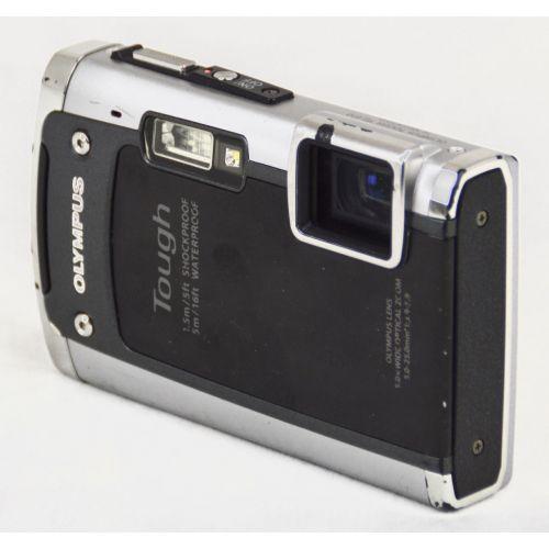 Olympus Tough TG-610 (13,8 Megapixel), silber-schwarz
