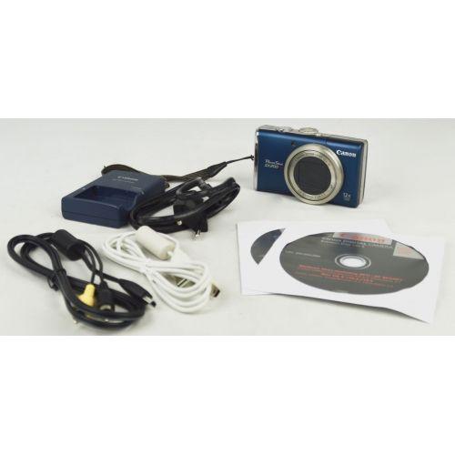 Canon PowerShot SX200 IS Digitalkamera (12 Megapixel, 12-fach opt. Zoom) Farbe schwarz