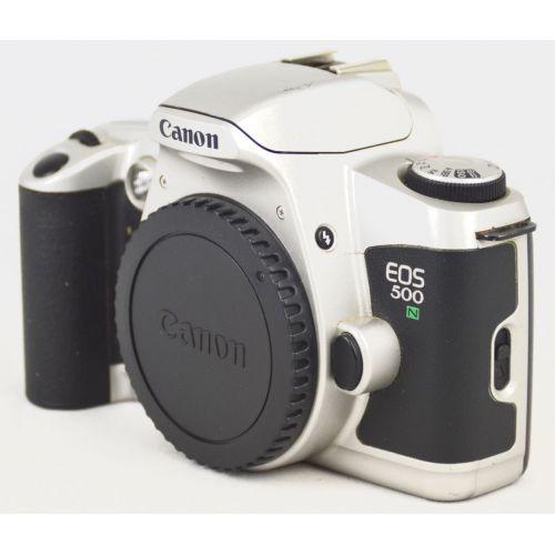 Canon Eos 500N Body, silber