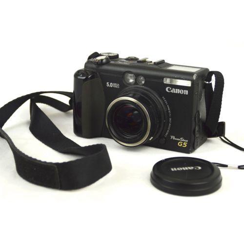 Canon Powershot G5 Digitalkamera gebraucht OVP ( 5,0 Megapixel)