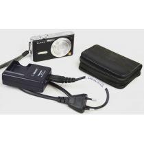 Panasonic Lumix DMC-FX9 Digitalkamera gebraucht (6MP, 3-facher opt. Zoom) schwarz